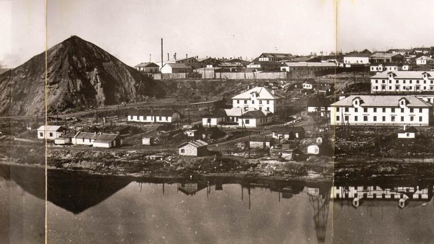 Tábor Vorkuta ležící za polárním kruhem patřil k nejobávanějším sovětským pracovním táborům (gulagům) kvůli teplotám klesajícím v zimě pod −50 °C. Zdroj: Wikipedie