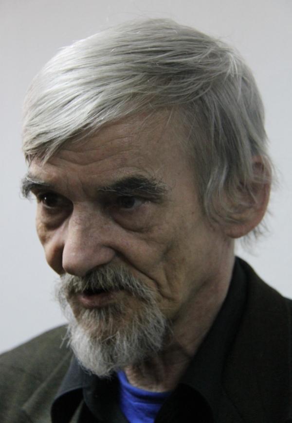 Jurij Dmitrijev v březnu 2018. Foto: Olga Nosenko
