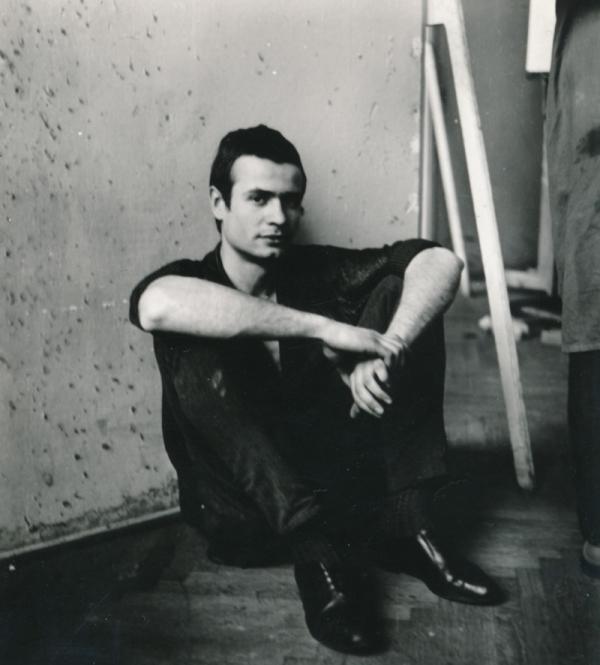 Miroslav Koval v roce 1965, kdy začal studovat na AMU.