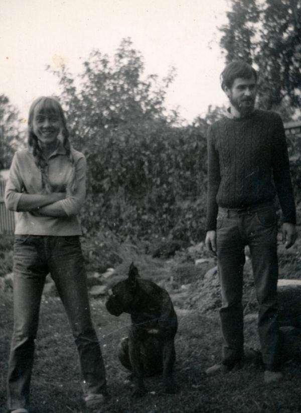 Anežka Kovalová, rozená Jílková, a Miroslav Koval v roce 1970.