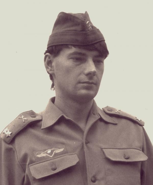 Marek Franěk v roce 1980. Zdroj: Paměť národa