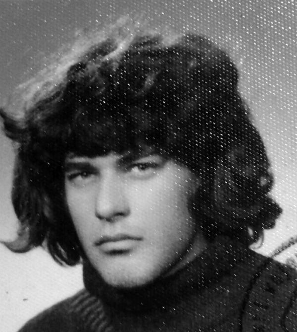 Kamil Mihál v roce 1980. Zdroj: Paměť národa