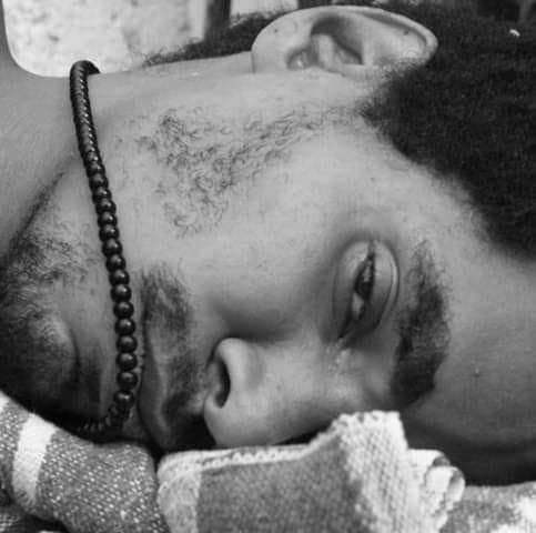 Luis Manuel během hladovky, kterou držel od 18. listopadu 2020. Foto: Katherine Bisket/Post Bellum