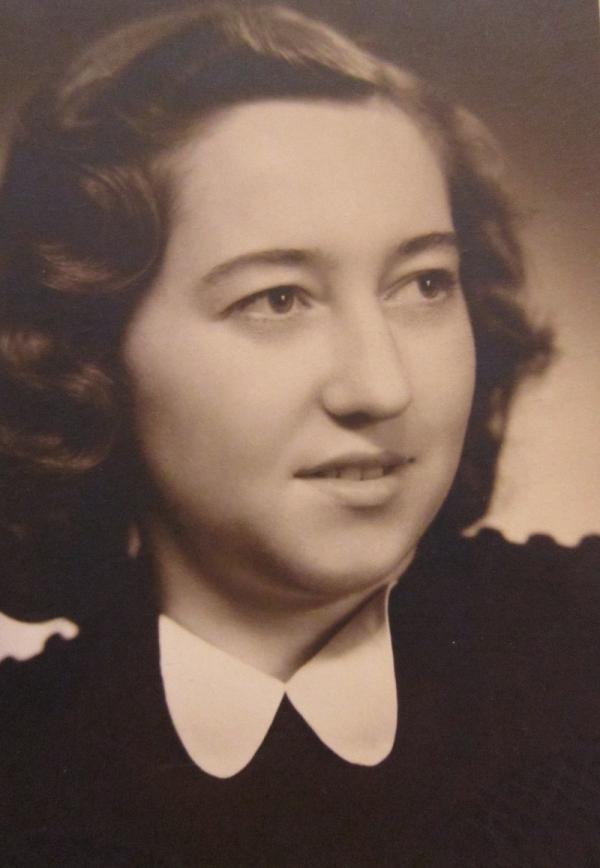Daruše Burdová v roce 1943. Foto: Paměť národa