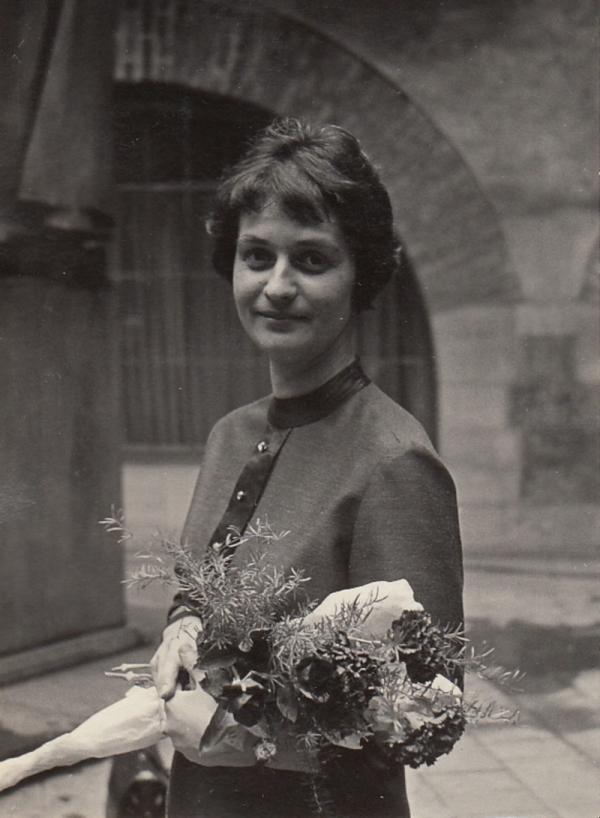 Anastazie Kopřivová při promoci na Univerzitě Karlově. Zdroj: Anastazie Kopřivová