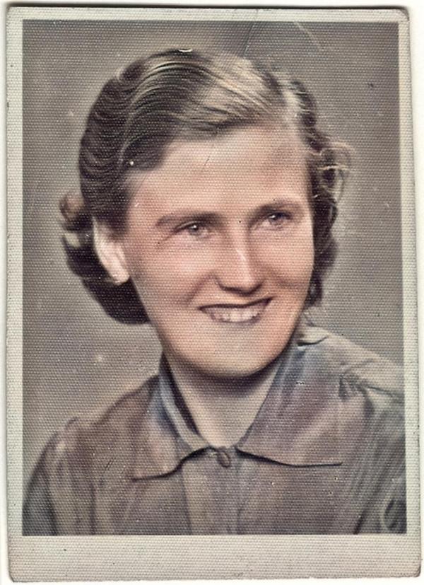 Alžběta Vargová v mládí. Foto: Paměť národa