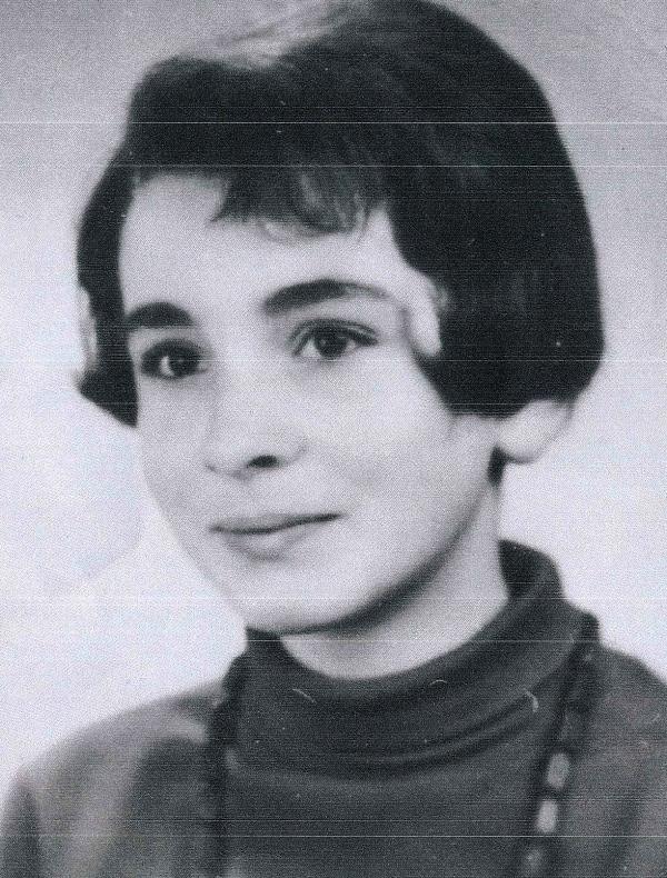 Angelika Grassme v roce 1969.Zdroj: Archiv pamětnice