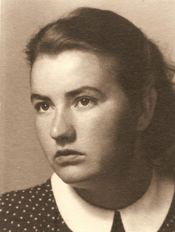 Anna v mládí. Foto: Paměť národa
