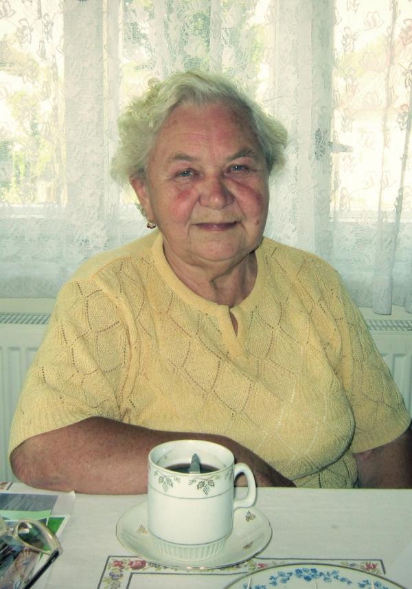 Anna Vašátková v srpnu 2012. Foto: Vít Lucuk