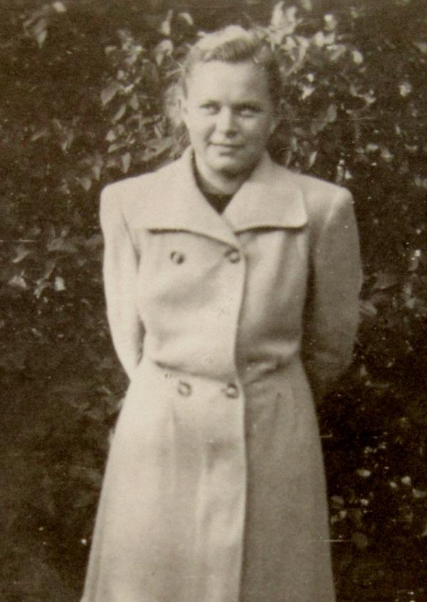 Anna Vašátková kolem roku 1964. Foto: Paměť národa