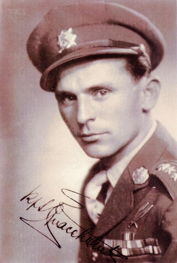 Antonín Špaček v době druhé světové války. Zdroj: Paměť národa