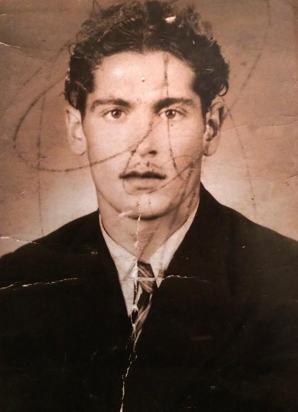 Antonín Murka, strýc pamětníka, v době před druhou světovou válkou. Zdroj: archiv pamětníka