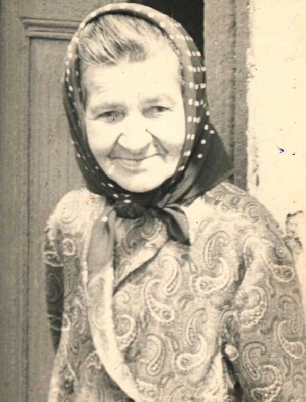 Babička Josefa Komárková. Foto: Paměť národa