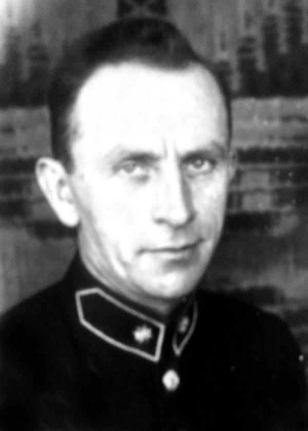 Tatínek Aleny Gruškové Bohuslav Bitter sloužil jako policista a zároveň byl členem odbojové buňky skupiny Lvice. Foto: Paměť národa