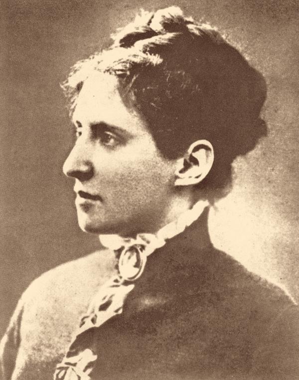Charlotte Garrigue Masaryková (1850–1923) pocházela z New Yorku, se svým mužem se seznámila v roce 1876 v Lipsku. Foto: ČTK