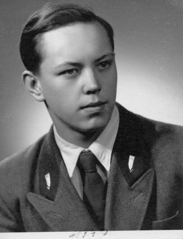 Stanislav Chromčák v roce 1949. Foto: Paměť národa