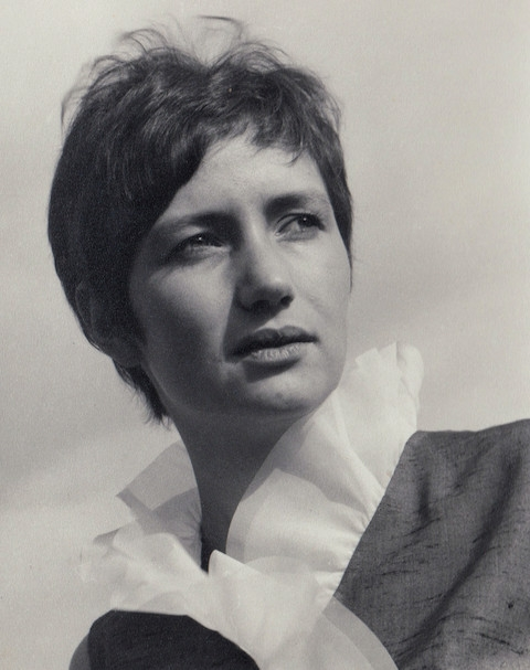 Dagmar Lastovecká v mládí. Foto: Paměť národa