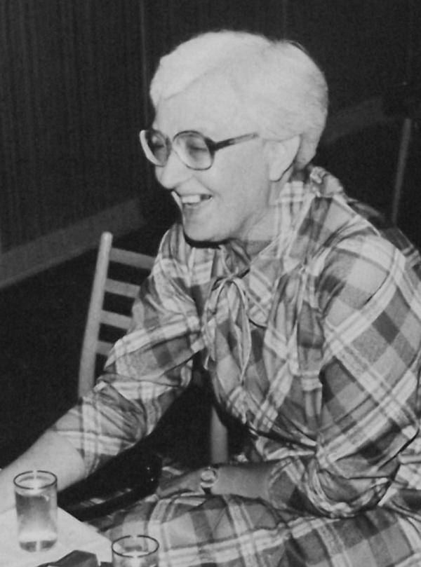Eva Machková v době, kdy se věnovala dramatické výchově dětí. Foto: Paměť národa