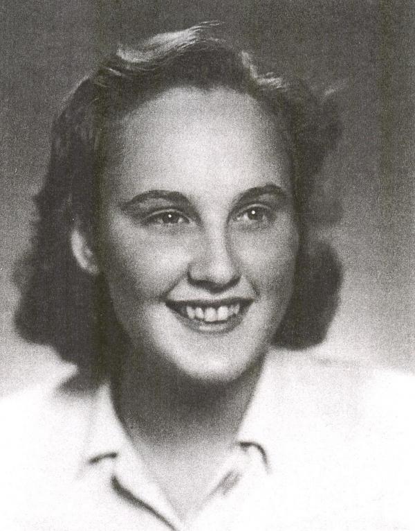 Doris v mládí.