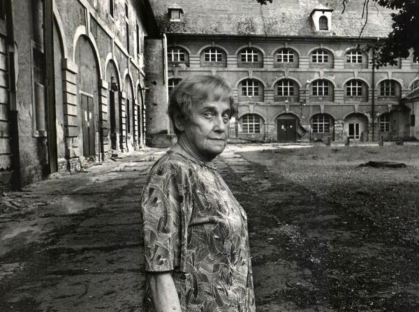 Doris Grozdanovičová v Terezíně.