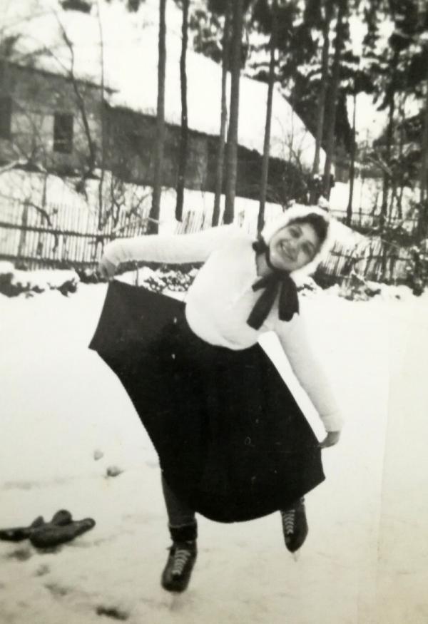 Marie Dubská v Srlíně před válkou. Foto: Paměť národa
