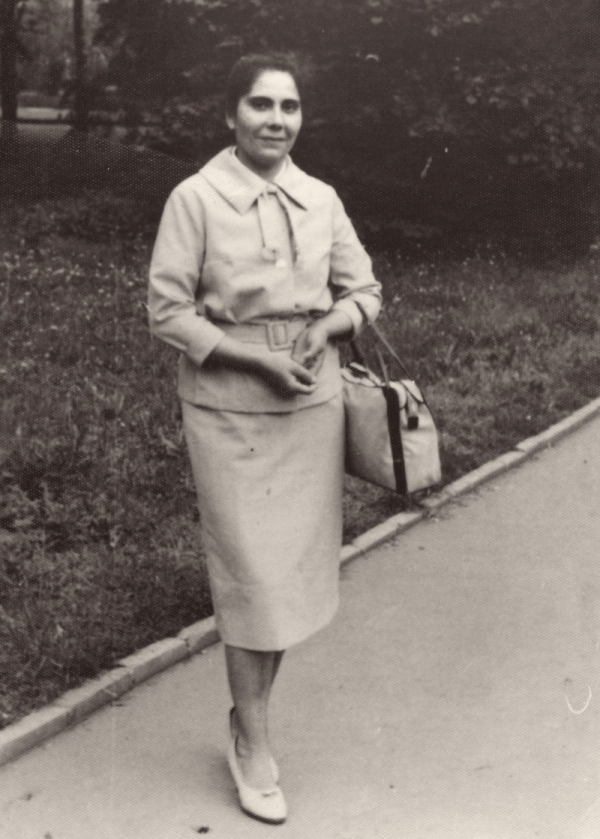 Elena Lacková v době vysokoškolského studia v Praze. Foto: Paměť národa