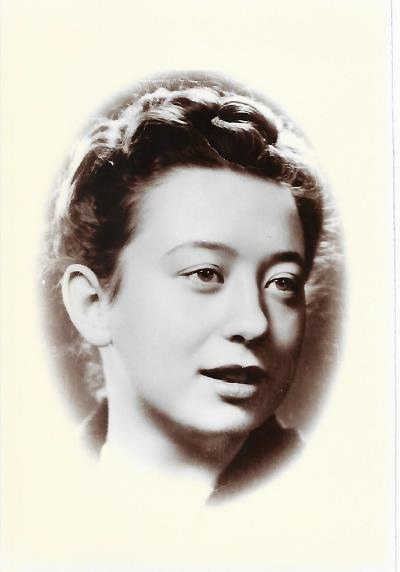 Emanuela v roce 1942. Zdroj: Paměť národa