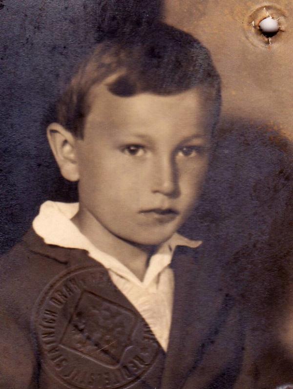 Šestiletý Emil Pražan. Foto: Paměť národa