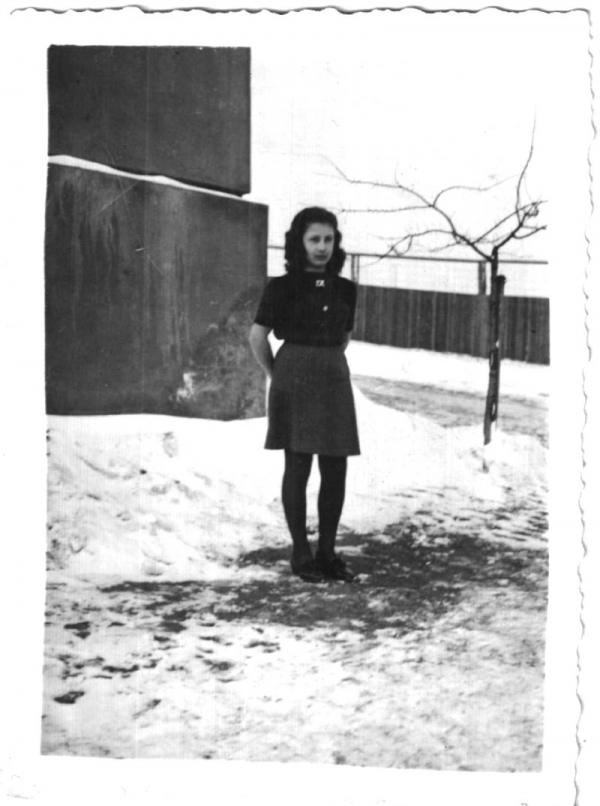 Eva v táboře ve Svatobořicích