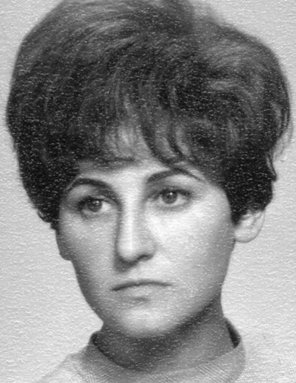 Eva Tejčková v mládí.