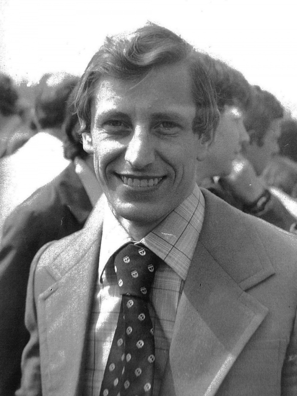 František Bloudek v mládí. Foto: Paměť národa