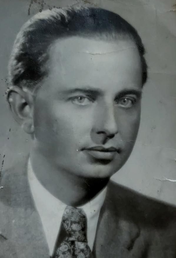 František Jaroš. Na konci války mu bylo 38 let. Foto: archív Josefa Kapela