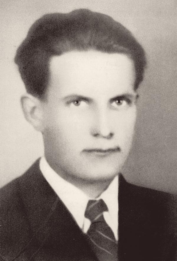František Pohan utýraný ve věznici v Leopoldově. Zdroj: Archiv rodiny Beránkovy, převzato z publikace Kolektivizace na Voticku