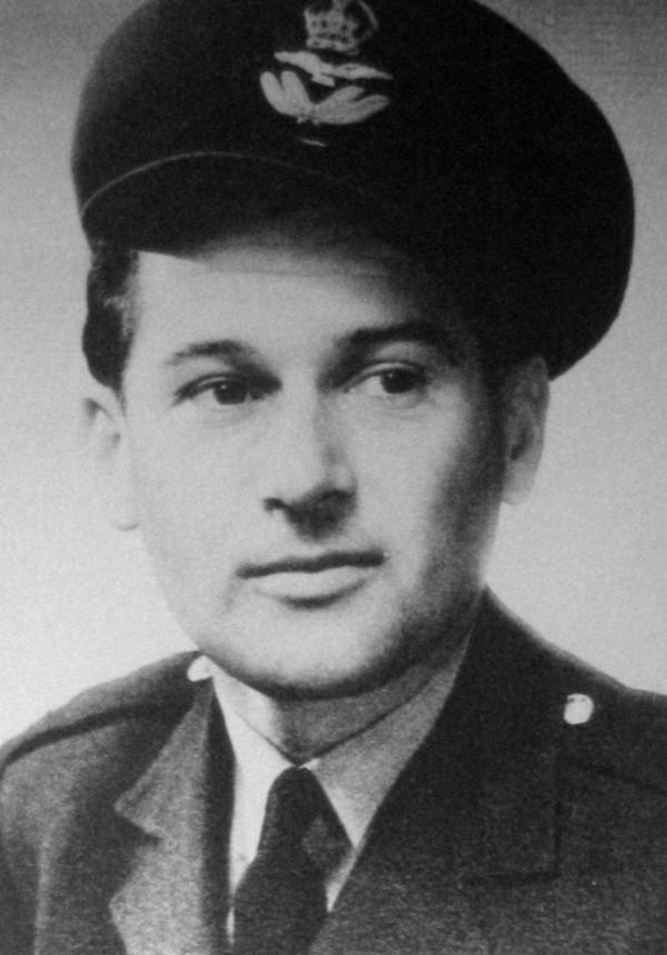 Imrich Gablech v Anglii v roce 1945.