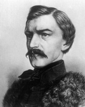 Ostrý kritik monarchie Karel Havlíček Borovský sám zažíval pronásledování režimem. Foto: Wikimedia Commons