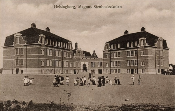 Helsingborg, kde Eva trávila karanténu. Foto: Paměť národa