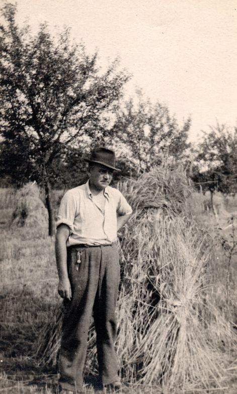 Josef Hořejší na snímku z rodinného archivu. Zdroj: Paměť národa