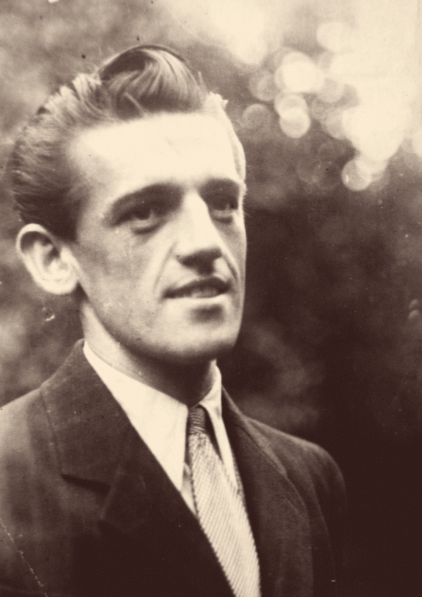 Karel Hrubý v mládí. Foto: Paměť národa