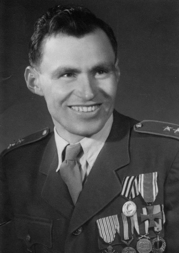 Jan Plovajko po válce. Foto: Paměť národa
