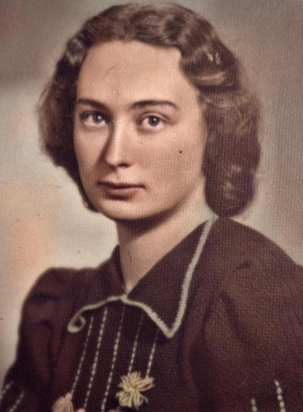 Jarmila v roce 1941. Foto: Paměť národa
