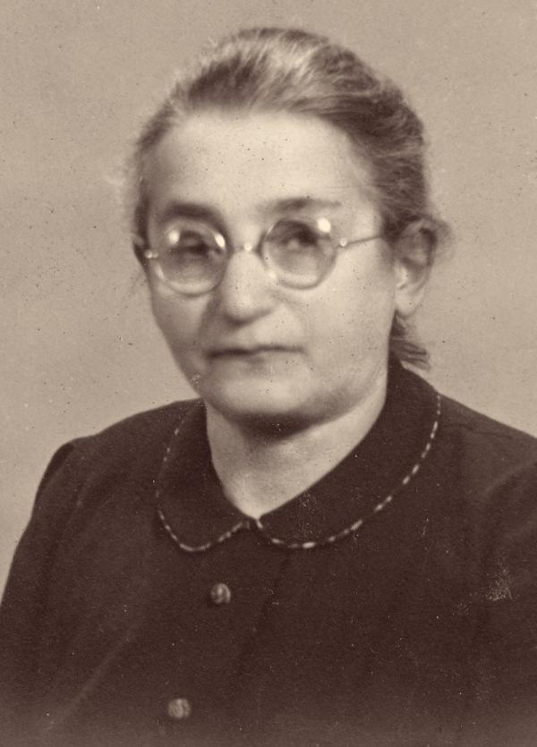 Babička Josefa Ledererová zahynula v nacistickém vyhlazovacím táboře v Treblince. Foto: Paměť národa