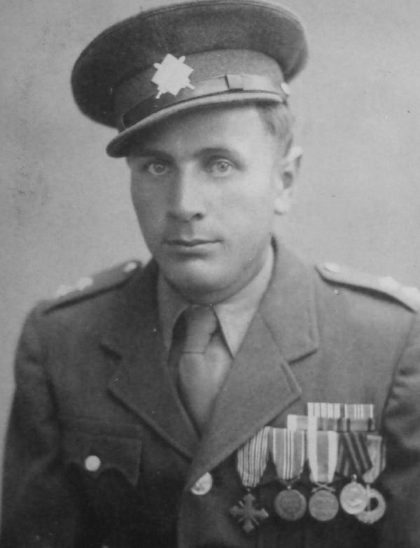 Kapitán Josef Kulich z Volyně jako hrdina východní fronty.