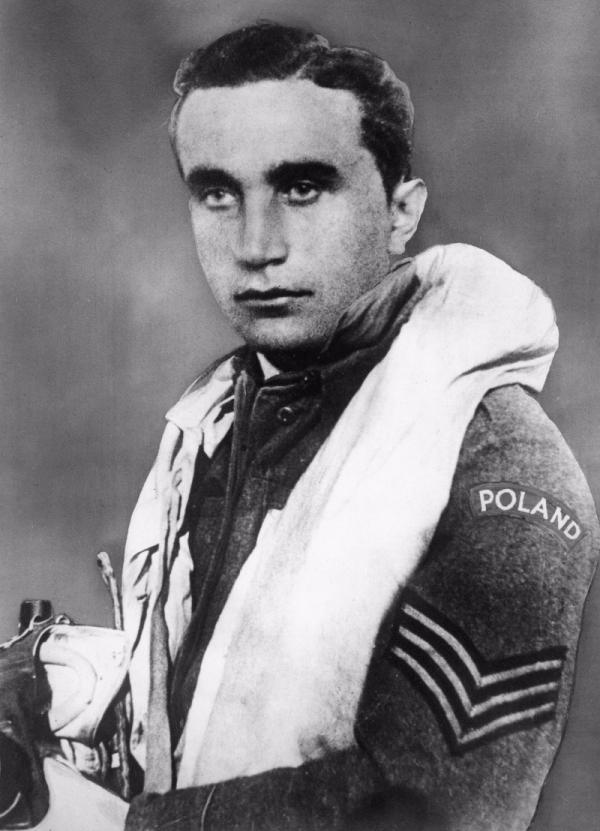 Josef František, příslušník 303. polské stíhací perutě, eso bitvy o Británii ve druhé světové válce.