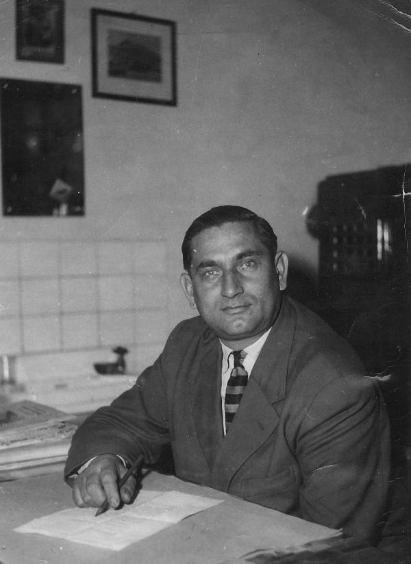 Manžel Jozef Lacko pracoval po válce jako hygienik. Foto: Paměť národa
