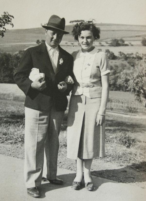 František a Jarmila Karabelovi byli oba popraveni v Mauthausenu 24. října 1942. Foto: Paměť národa