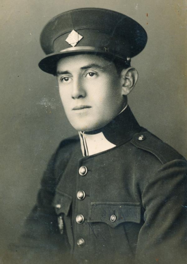 Otec Václav Kiršner před válkou. Věznění ho změnilo k nepoznání. Foto: Paměť národa