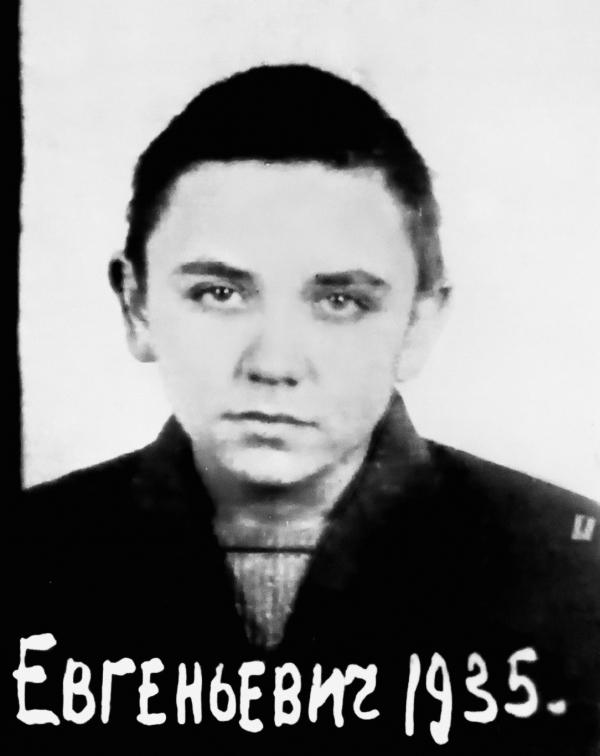 Čtrnáctiletý Levko na fotografii z vězeňského spisu. Zdroj: HDA SBU Archiv bezpečnostní služby Ukrajiny