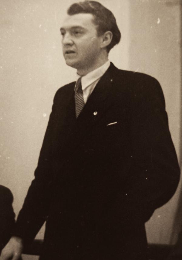Mladý poslanec národních socialistů Josef Lesák. Foto: Paměť národa