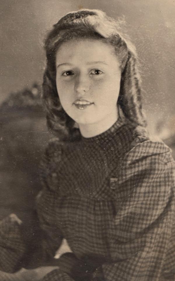Čtrnáctiletá Lily. Zdroj: Paměť národa