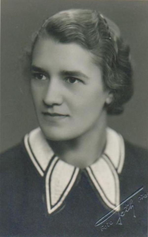 Ludmila Chytilová, zdroj: Paměť národa